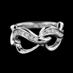 Amiatex Stříbrný prsten 14932, 49
