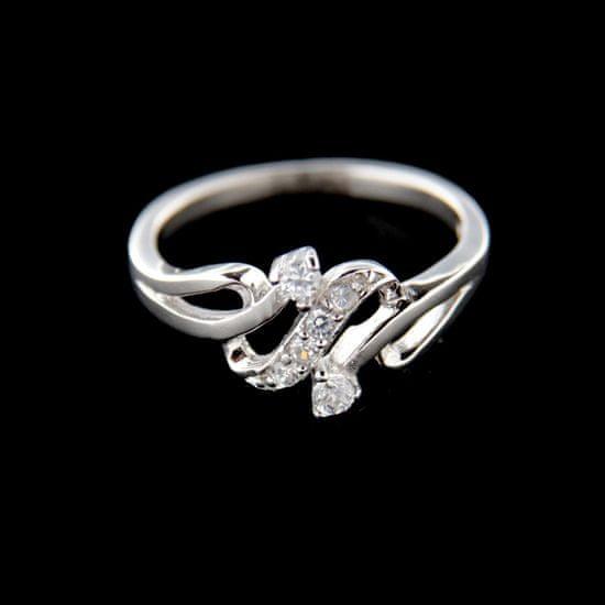 Amiatex Stříbrný prsten 15202