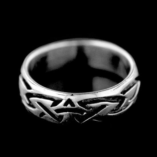 Amiatex Ezüst gyűrű 15397 + Nőin zokni Gatta Calzino Strech, 57
