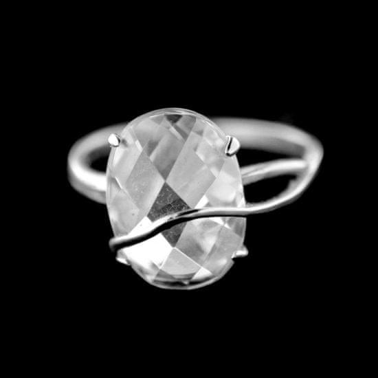 Amiatex Strieborný prsteň 15390