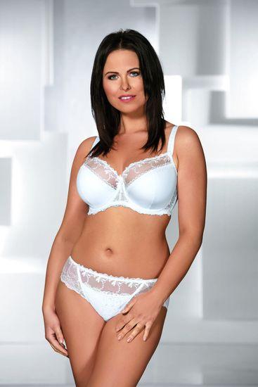 Ava Stringi damskie 1030 white + Skarpetki Gatta Calzino Strech