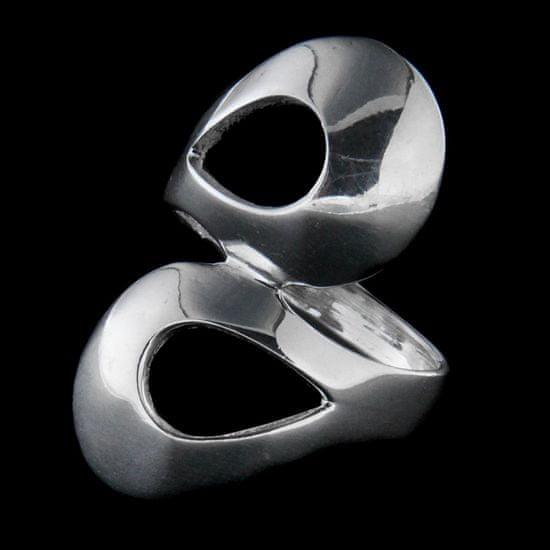 Amiatex Ezüst gyűrű 36070, 59