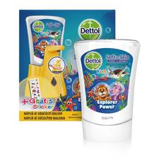 Dettol Kids ZOO Bezdotykowy dozownik mydła 250 ml
