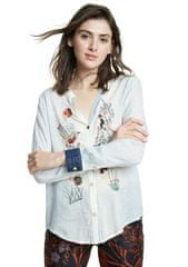 Desigual dámská košile Matera 20SWCW22 S bílá