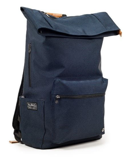 "PKG Brighton Laptop Backpack 15"", tmavě modrý (PKG-BRIG-NV01TN)"