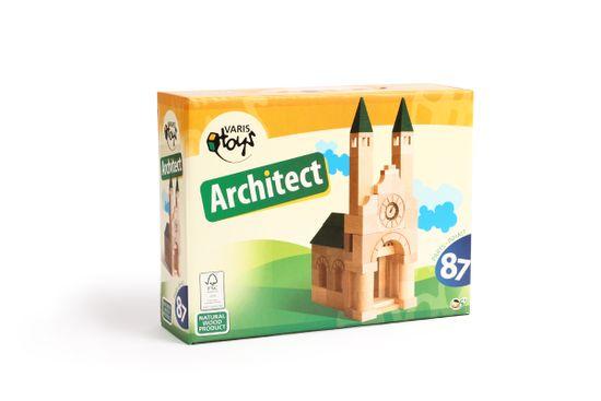 VARIS Toys Architekt 87 kostek