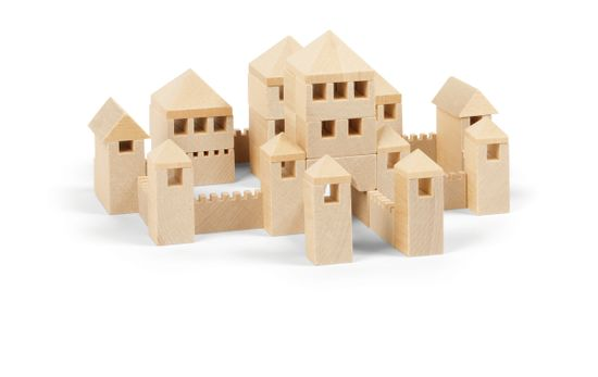 VARIS Toys Architekt město 107 kostek