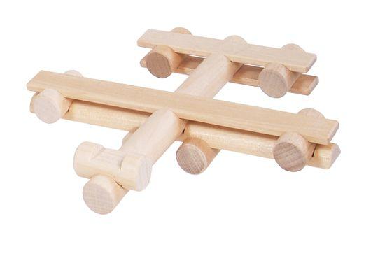 VARIS Toys Konstruktér letadlo