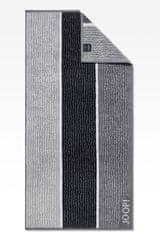 JOOP! Osuška Lines 80x150 cm, čierna