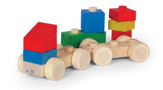 VARIS Toys Propojovací kostky - Kamion s návěsem