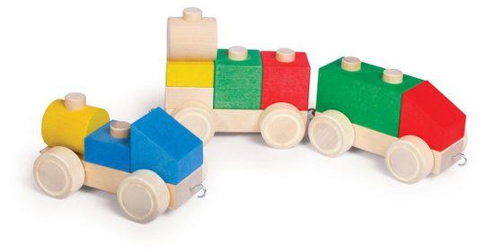 VARIS Toys Propojovací kostky - Vláček