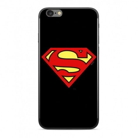 Ert Superman ochranný obal na mobil IPHONE X / XR Černé