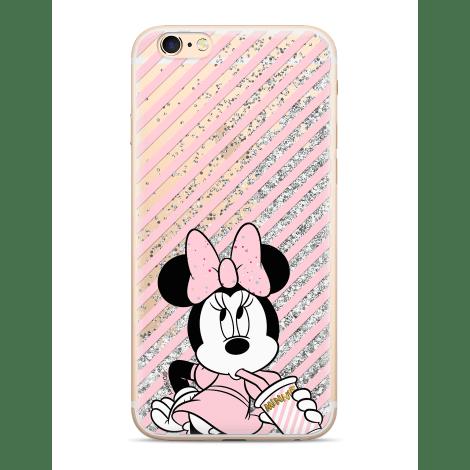 Ert Minnie ochranný obal na mobil IPHONE X / XS Stříbrné