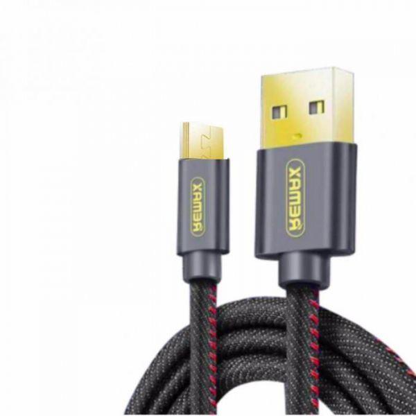 REMAX AA-1308 RC-096m - data kabel micro USB 1,2m, černý