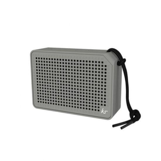 KitSound BOXI vodoodporni zvočnik, siv