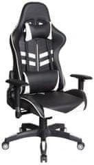 Hyle VRT.HY-2511 pisarniški stol, črno-bel