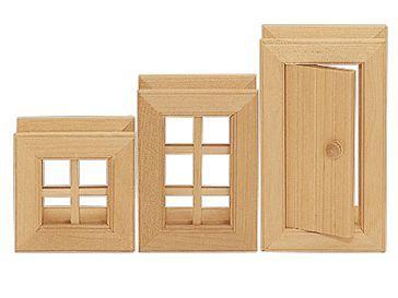 VARIS Toys Konstruktér okna a dveře III 3 kusy