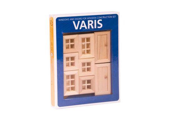 VARIS Toys Konstruktér okna a dveře II 8 kusů