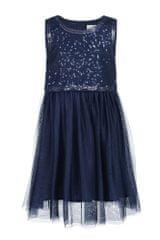 sukienka dziewczęca 86 niebieska
