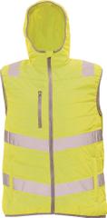 Cerva Pánská refelxní zateplená vesta Montrose žlutá L