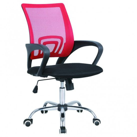 Cosmil pisarniški stol, rdeč