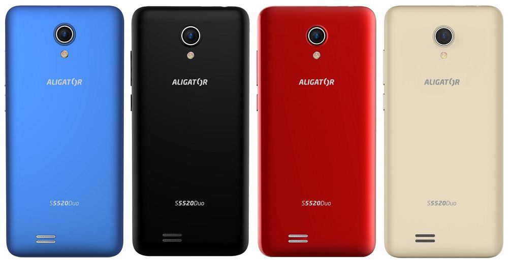 Aligator S5520 Duo Senior, 1GB/16GB, černý - použité