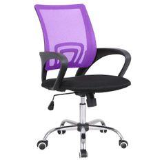 pisarniški stol Riva, vijoličen