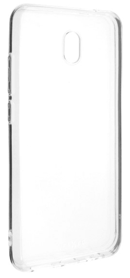 FIXED Ultratenké TPU gelové pouzdro Skin pro Xiaomi Redmi 8A, 0,6 mm, čiré (FIXTCS-466)