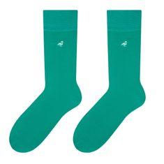 More Pánské ponožky MORE 051 zelená/logo 39/42