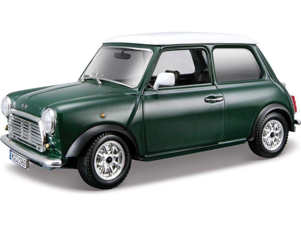 BBurago Bijoux MINI Cooper 1969 zelené 1:24