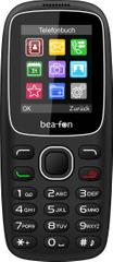 Beafon C65 GSM telefon, črn