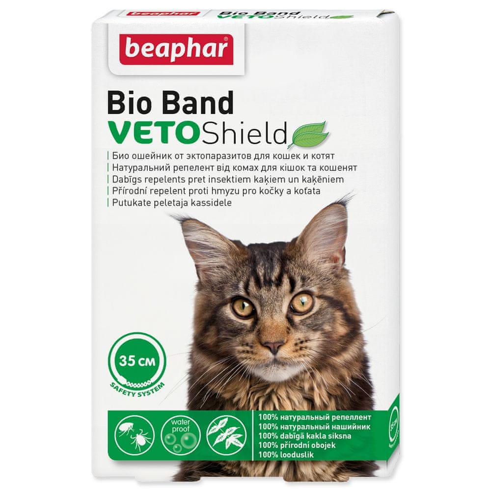 Beaphar Obojek repelentní Bio Band Veto Shield 35 cm