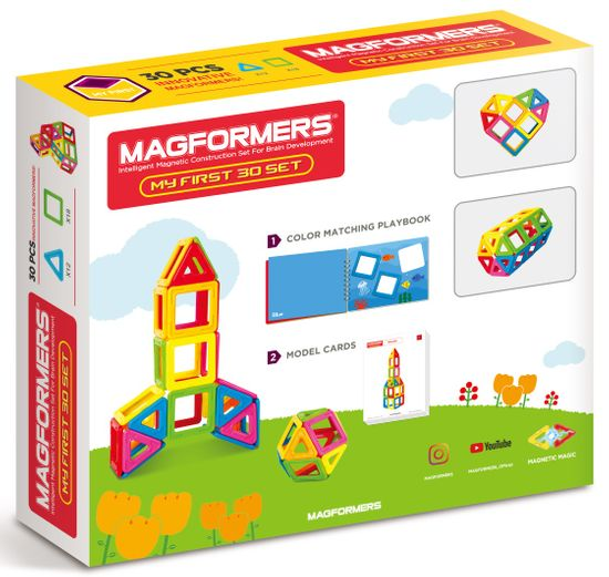 Magformers Moji prvi Magformerji 30