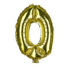 Banquet Balónek nafukovací foliový č.0 MY PARTY, výška 30 cm