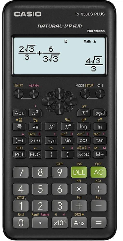 Casio FX 350 ES PLUS 2E - rozbaleno