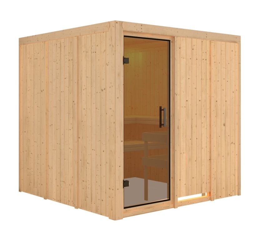 KARIBU finská sauna KARIBU RODIN (75730)