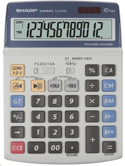 Sharp namizni kalkulator EL2125C (SH-EL2125C)