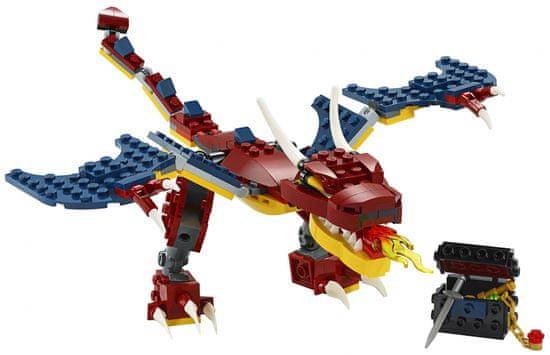 LEGO Creator 31102 Ognjeni zmaj