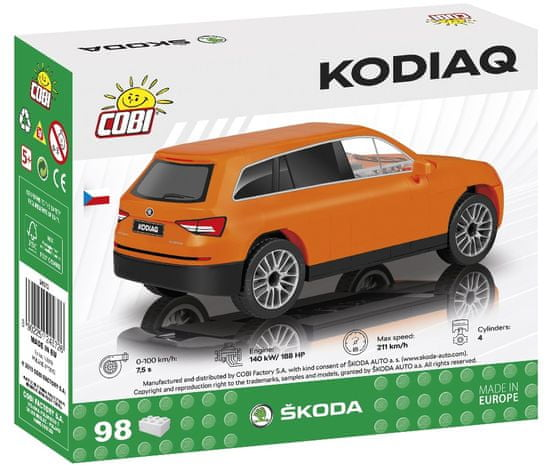 Cobi 24572 Škoda Kodiaq automobil