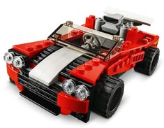 LEGO zestaw Creator 31100 Samochód sportowy