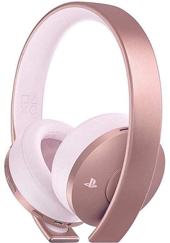 Sony PS4 - Gold Wireless Headset, růžová (PS719969600)