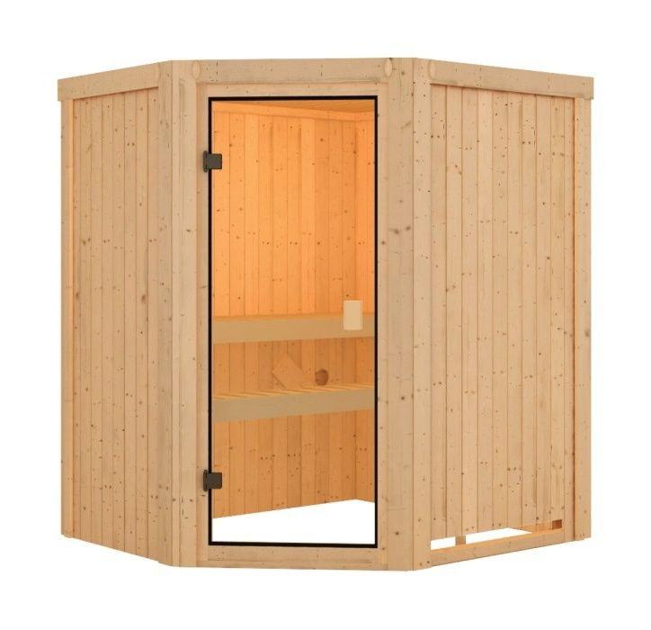 KARIBU finská sauna KARIBU FAURIN (6190)