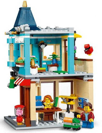 LEGO Creator 31105 Játékbolt a városközpontban