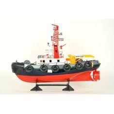 Hasičská loď s funkčním vodním dělem RTR sada