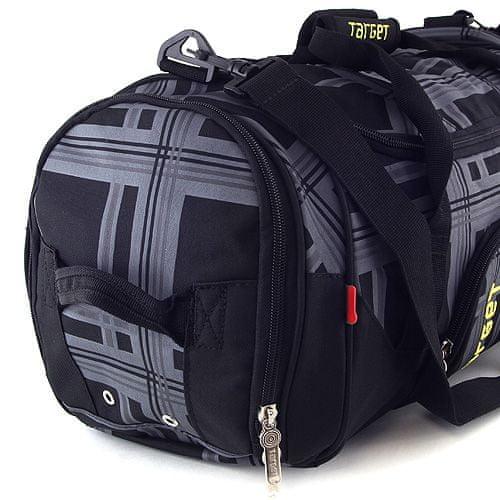 Target Ciljna potovalna torba, črno-siva