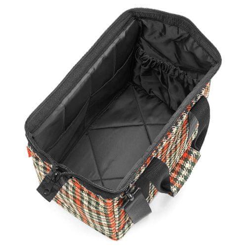 Reisenthel Potovalna torba , Črno in rdeče z motivom petdesetih | Allrounder M