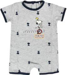 Disney Snoopy otroški pajac, siv, 52