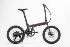 """Hoobike Skladací elektrobicykel, 250 W, 36V 5,2Ah Líthium - Ion, 20"""" kolesá, kotúčové brzdy"""