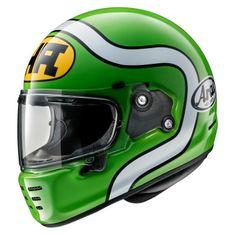 Arai CONCEPT-X HA Green retro helma