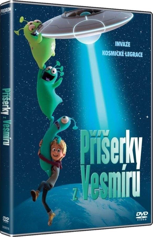 Popron Příšerky z vesmíru, DVD